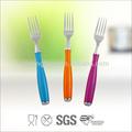 Colores de alta calidad cubiertos/horcas/rastrillos/cuchara/cuchillo de carne