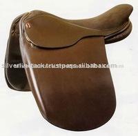Leather Show Saddle