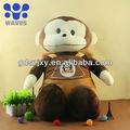 Personnalisés doux singe, animal en peluche peluche fabricant de jouets