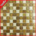 Azulejo Macchiato Mosaico de vidrio Material de construcción