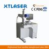 OEM Metal Plastic Fiber laser Marking machine 20W