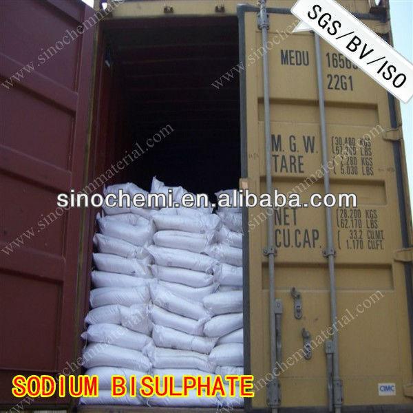 Piscina química ph decreaser de sodio bisulphate