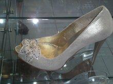 Wedding Bridal shoe art.No825