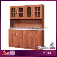 K814 On sale MDF pvc kitchen cupboard