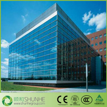 4mm-10mm energy saving online/offline Low E Glass for curtain wall