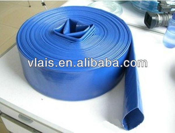 Flexible Pvc Hose Pipe Flat Type Suction Water Belt