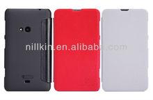 For Nokia Lumia 625 V-series Nillkin Leather Flip Case