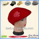Fashion Winter Angora and Wool Hat cap custom, LSA67