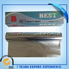 Food package winburn aluminium foil with SGS
