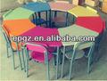 Mesa redonda para móveisparacrianças/creche escola cadeira mesa para promoção/baratos madeira mesa e cadeiras