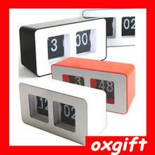 OXGIFT auto flip desktop clock