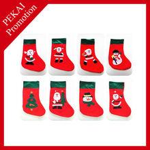 2015 Fashional Christmas stockings promotive gift