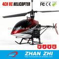 Alta qualidade 4CH controle remoto helicóptero de brinquedo de plástico que voar