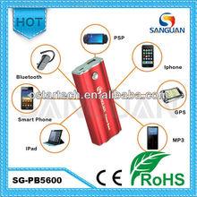 5600mah Universal Portable Battery Power Bank for Mobile/ iPhone / iPad / GPS