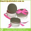 Customized wedding cake boxes gift box wedding decorative wedding boxes with ribbon