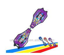 SB60 PU wheels, Child Snakeboard,Streetboard,Pivotboard,Vigor Skateboard