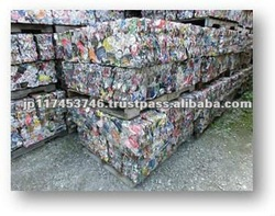 Recycle aluminum cans press form Japan