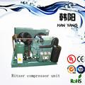 câmara frigorífica de refrigeração bitzer compressor unidade condensadora