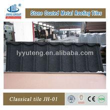 tone coated aluminium zinc roof tile in beautiful appearance(High quality)