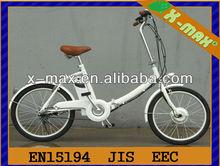 X-EB49 20'' 250W Sport style electric folding bike with JIS