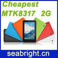 Chegada nova! 7 tablet pc polegadas com chamada de voz mtk8317 dual core