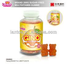 LANTOS brand 200g orange Vitamine C gummy candy