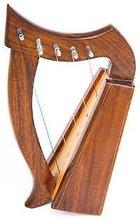 Rosewood Lyra harp