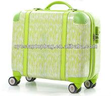 new design travelling bag portable trolley bag of cute trolley bag