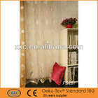 Hot sale embrodiery colorful kitchen curtains