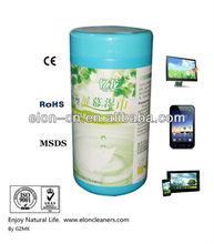 EU standard smart phone screen computer monitor cleaning wet cloth