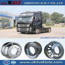 Mejor venta de 2013 piezas de camiones de aluminio Semi Truck ruedas 22.5