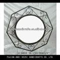 vintage ferro octagon espelho