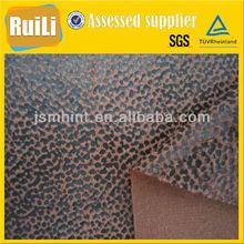 Sintético gilding camurça tecido para vestuário / sofá / almofada / estofos