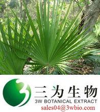 Pure saw palmetto fruit extract/ fatty acids