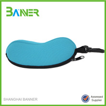 Zipper glasses case,glasses bag with lanyard, customized printing Colorful Neoprene Glasses Bag