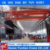 Electric Double Girder Bridge Crane Mechanical Workshop Equipment with CE ISO SGS GOST BV TUV
