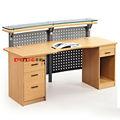 [ Mobiliário comercial ] [ china mobiliário de escritório ] de alta qualidade recepção vidro mesa de vidro balcão mesa A005