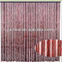 Home Decoration Natural Bamboo Bead Hanging Curtain Design 2014