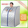 Ev sauna banyosu kolay kurulum portatif sauna odası kuru taşınabilir sauna odası taşınabilir sauna, taşınabilir sauna makinesi gw-b01