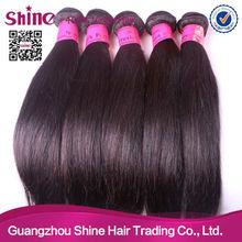 brazilian human hair weft, virgin brazilian hair wavy with factory price NO. 7