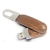 Hot sale 8gb leather usb flash drive for promotional gift