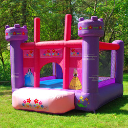 Princess Girl Bounce House Inflatable Bouncer Kids Jumper Moonwalker With Blower