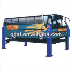 10 ton heavy four post lift for large vehicle/ minbus