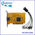 CCTV Camera Video Capture Card PC 4ch software dvr card h.264