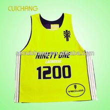 sublimation team wear basketball uniform free design