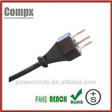 10/16A 250V Switzerland SEV 3 pin plug