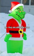 New design inflatable christmas grinch for sale,santa claus inflatable