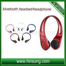 Hot Sale!!Wireless headphone Bluetooth stereo wireless headphone set with TF/SD card FM radio function