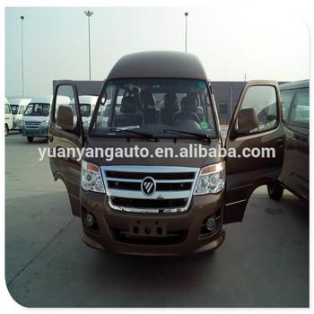 15 Seats Diesel Foton View Minibus (LHD & RHD)