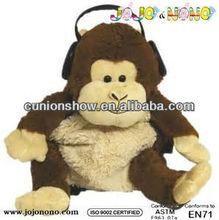 new design one piece backpack monkey school backpack